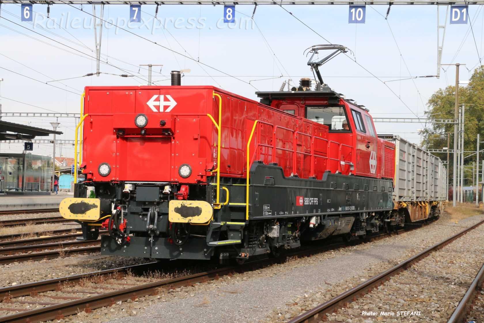 Aem 840 015-1 CFF à Payerne (CH)
