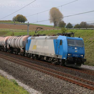 185 535-2 WRS à La Lance (CH)