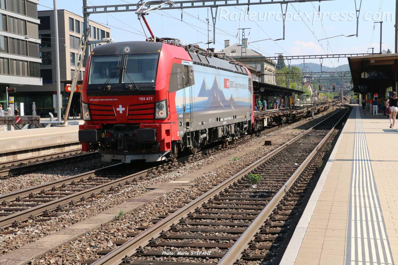 193 477 CFF à Liestal (CH)