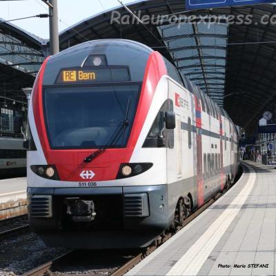 RABe 511 036 CFF à Olten (CH)