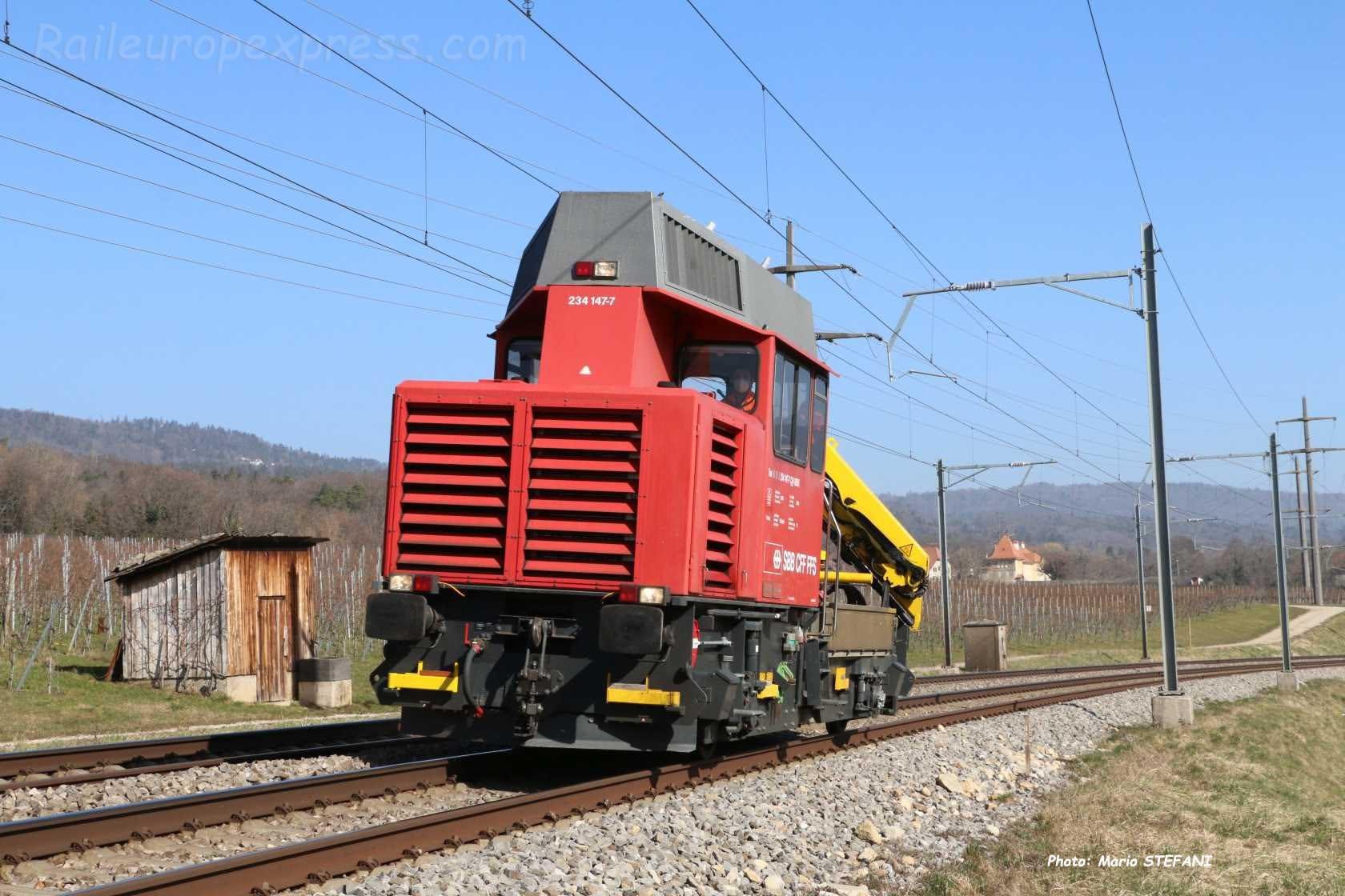 Tm 234 147-7 CFF à Boudry (CH)