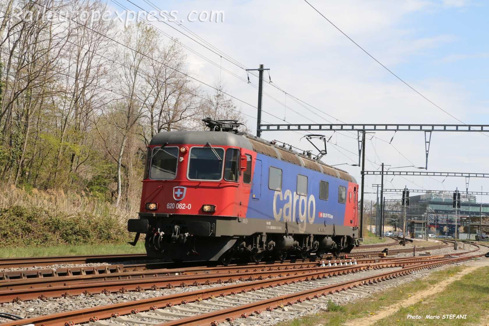 Re 620 062-0 CFF à Boudry (CH)