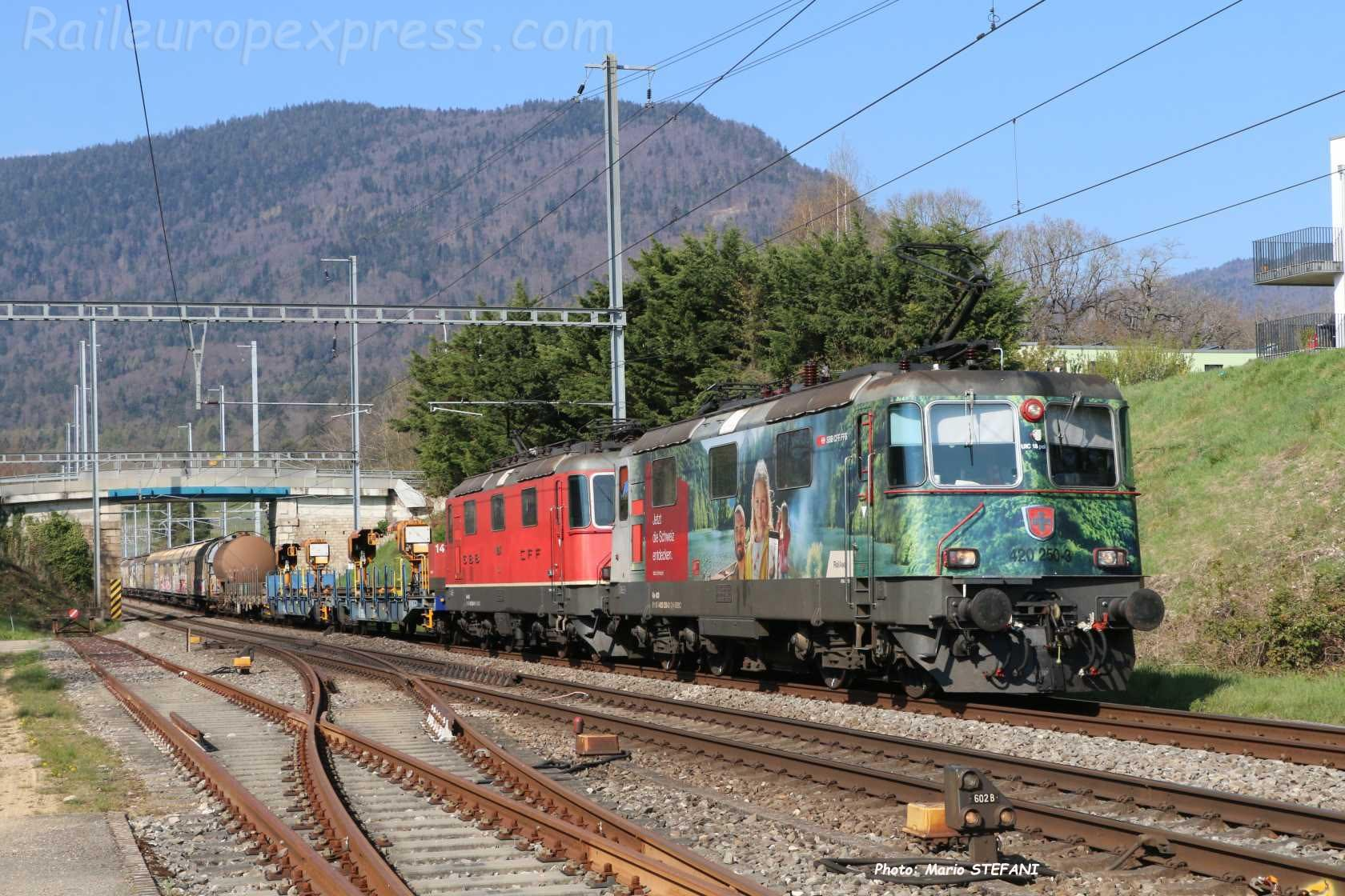 Re 420 50-3 CFF à Boudry (CH)