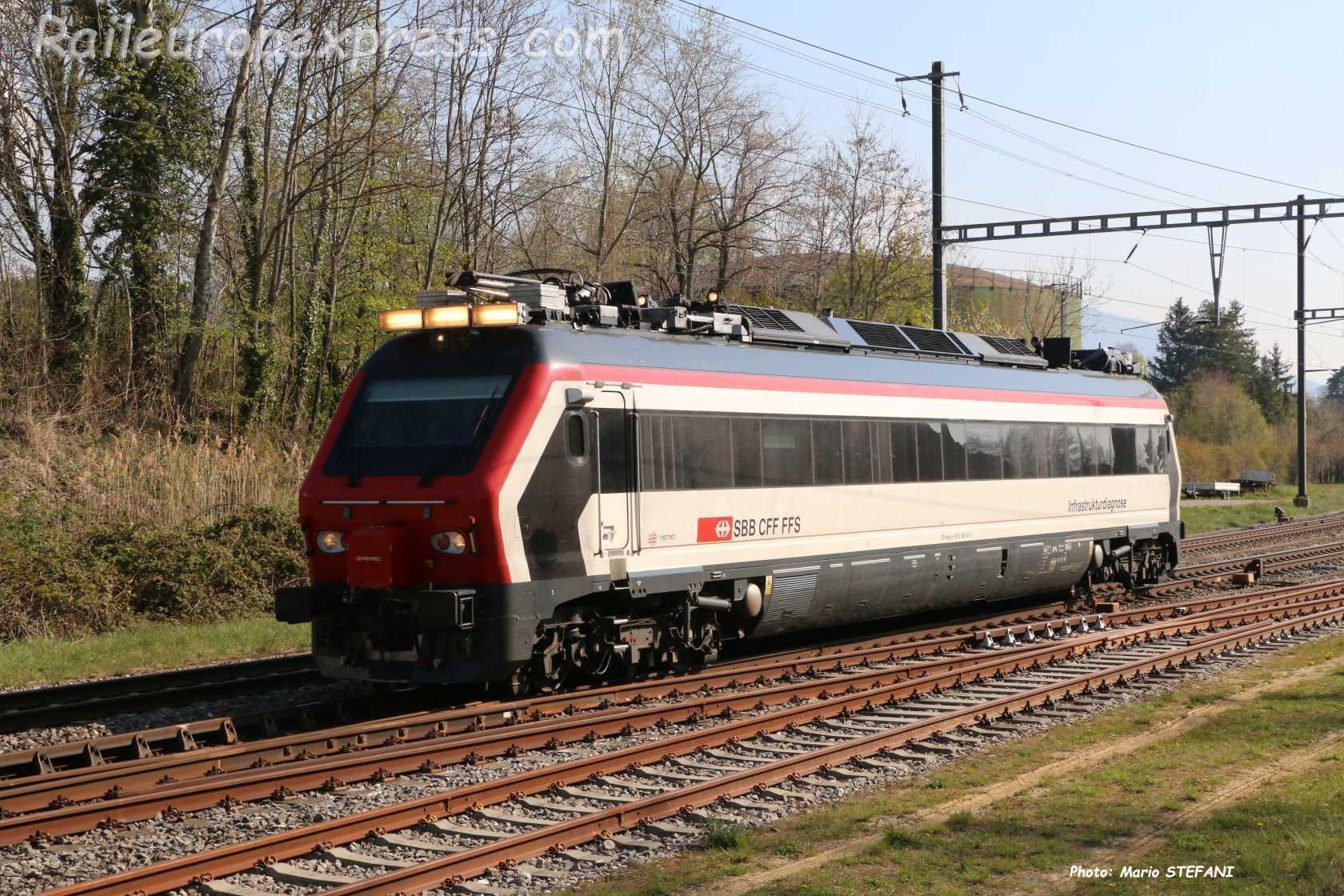 XTmass 9160 001-5 CFF à Boudry (CH)