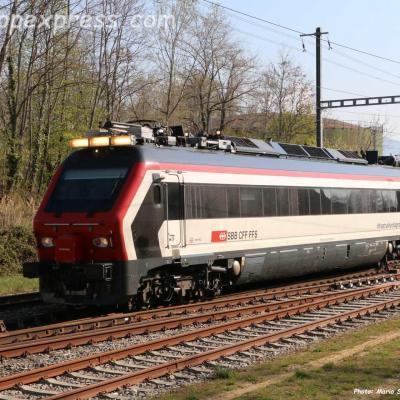 XTmass 160 001-5 CFF à Boudry (CH)