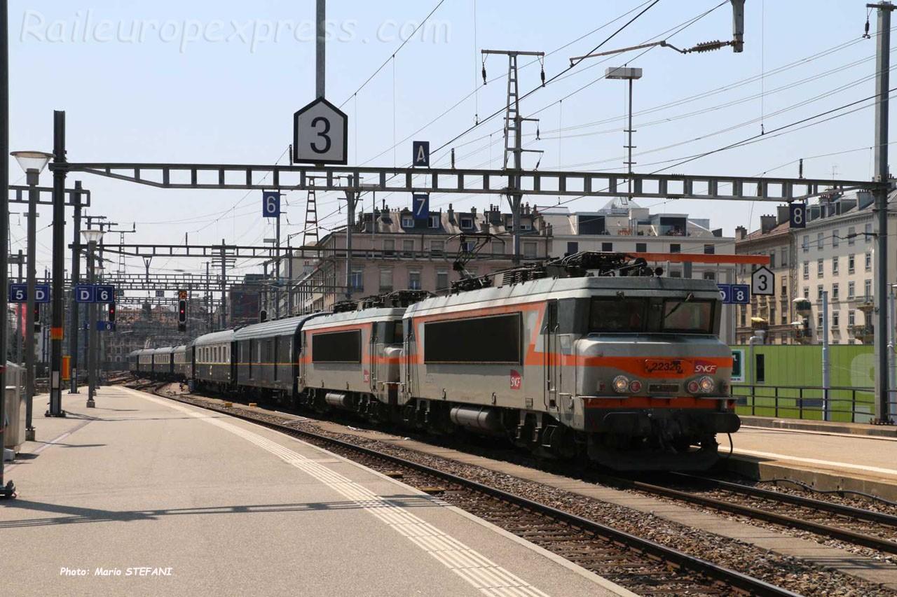 BB 22326 SNCF à Genève (CH)