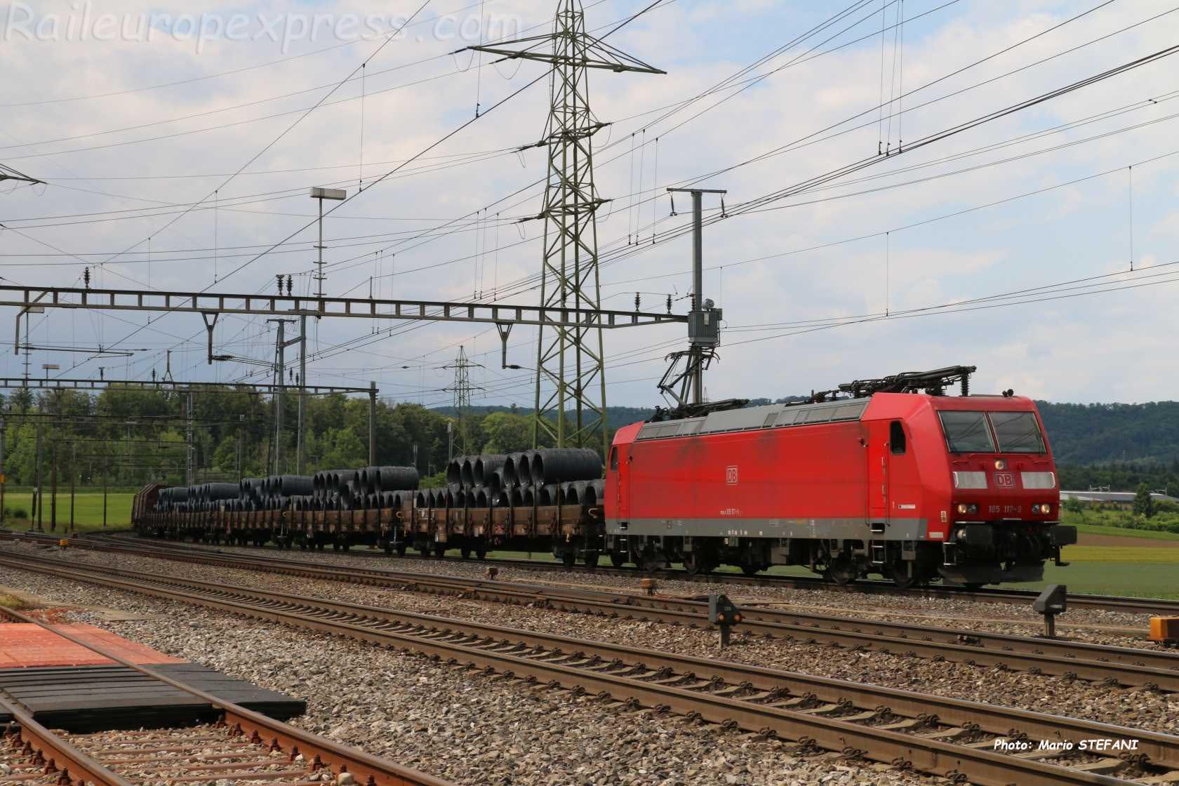 185 117-9 DB à Henschiken (CH)