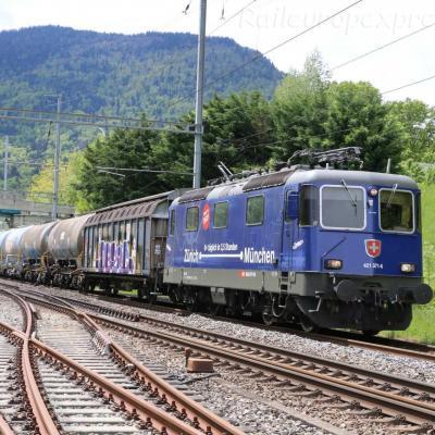 Re 421 371-6 CFF à Boudry (CH)
