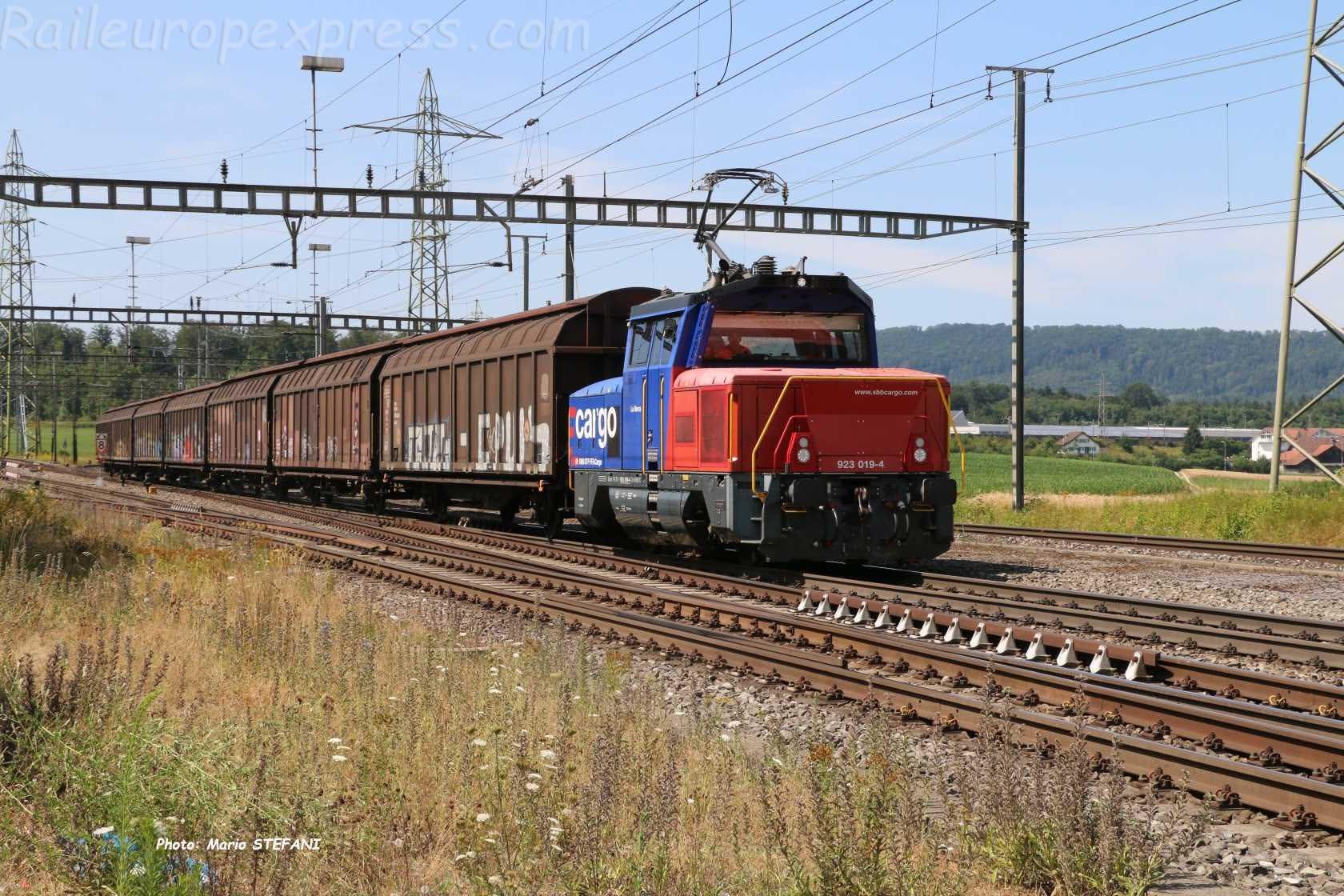 Eem 923 019-4 à Hendschiken (CH)
