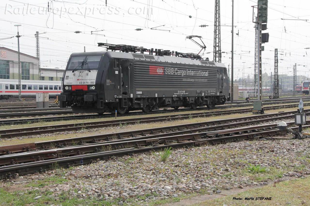 ES 64 F4 082 CFF à Basel Bad (CH)