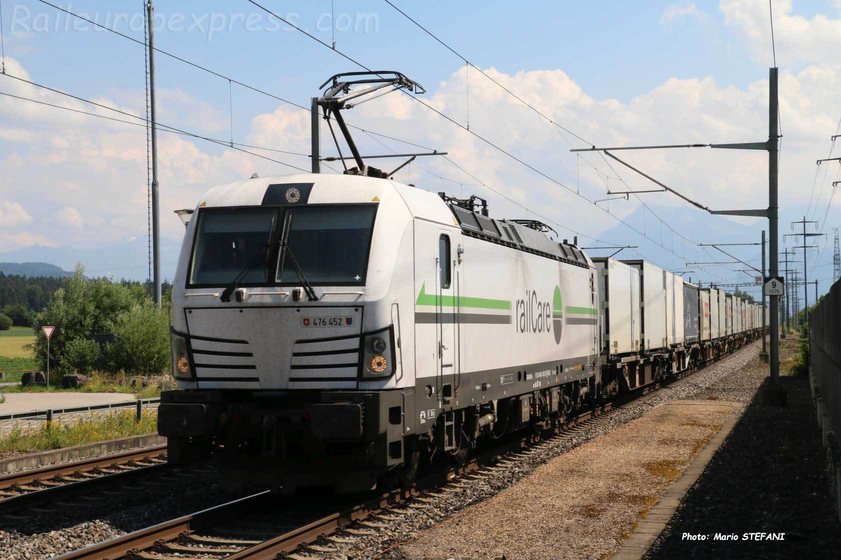 476 452-8 RLC à Kiesen (CH)
