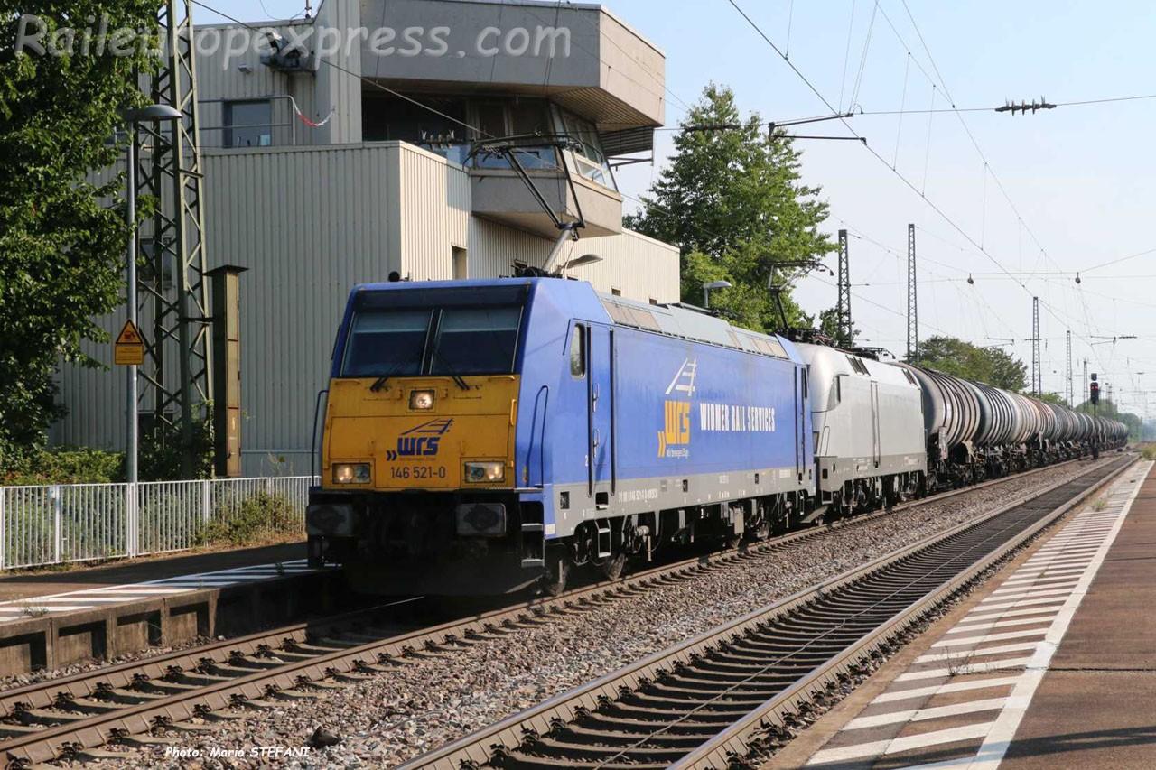 146 521-0 WRS à Müllheim (D)