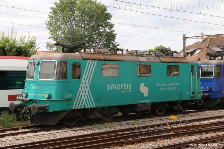Re 430 114 WRS à Neuchâtel (CH)