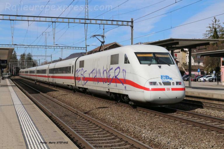 ICE DB à Sissach (CH)