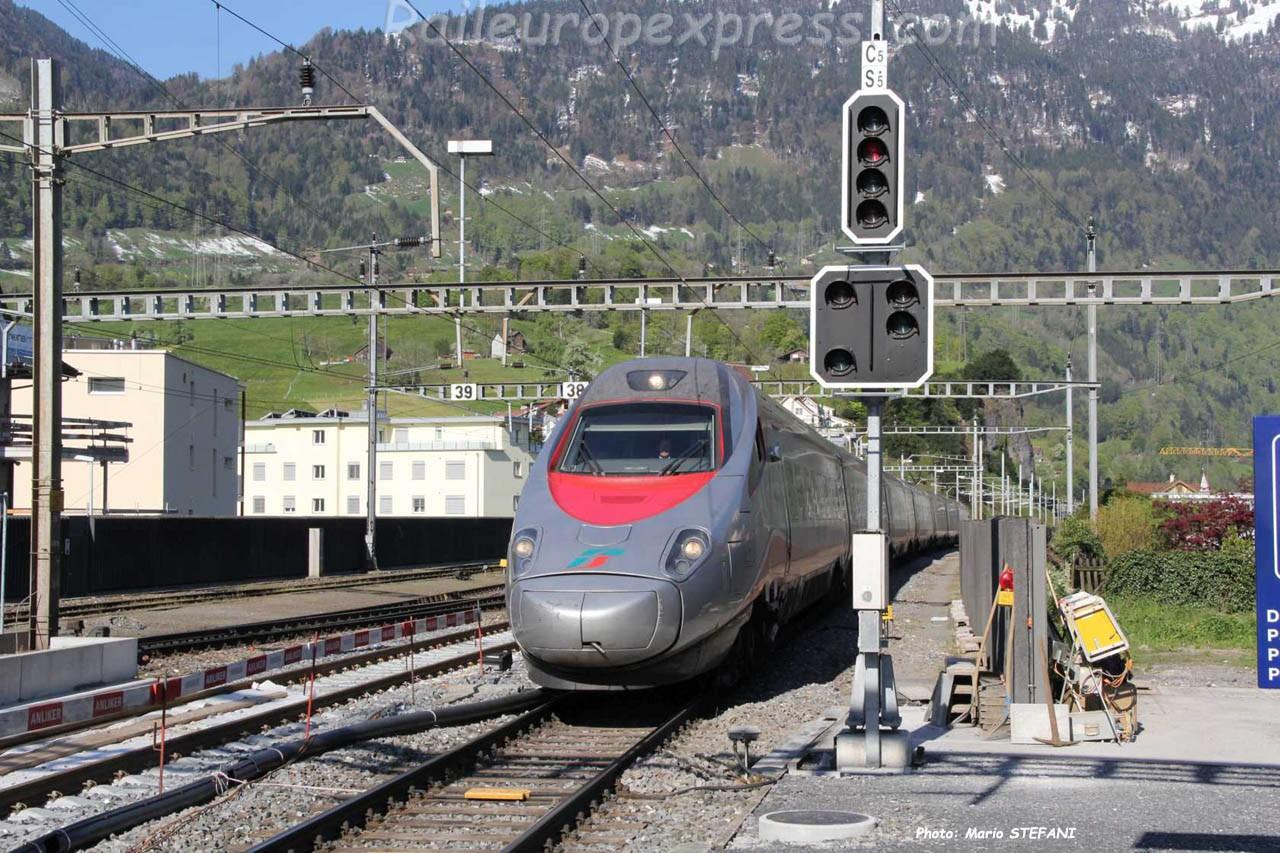 ETR 610 FS à Arth-Goldau (CH)
