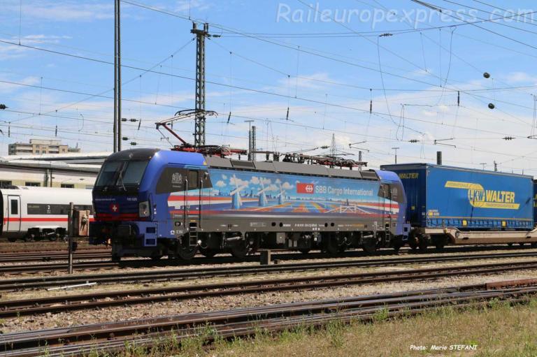 193 525-3 CFF à Basel Bad (CH)