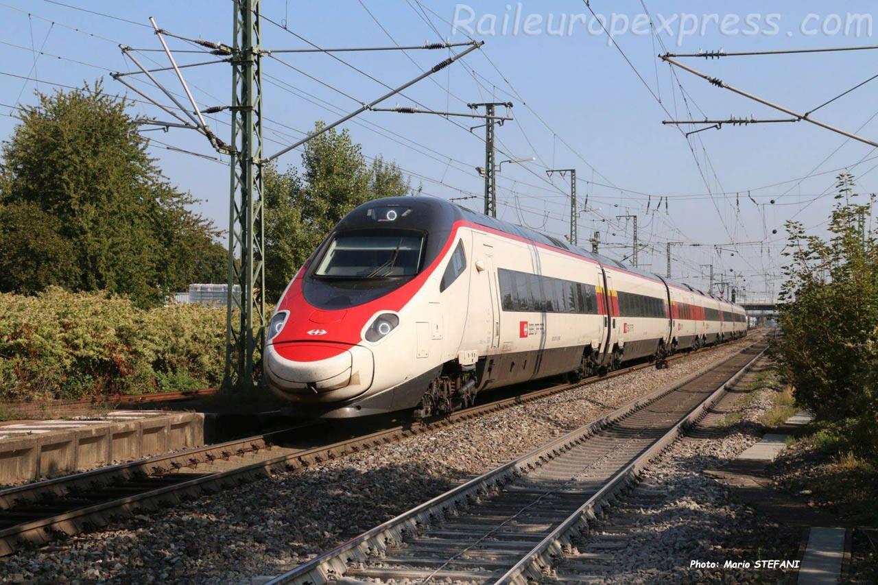 RABe 503 CFF à Müllheim (D)