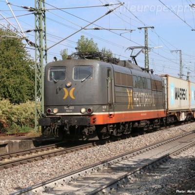 162 001 Hectorrail à Müllhein (D)