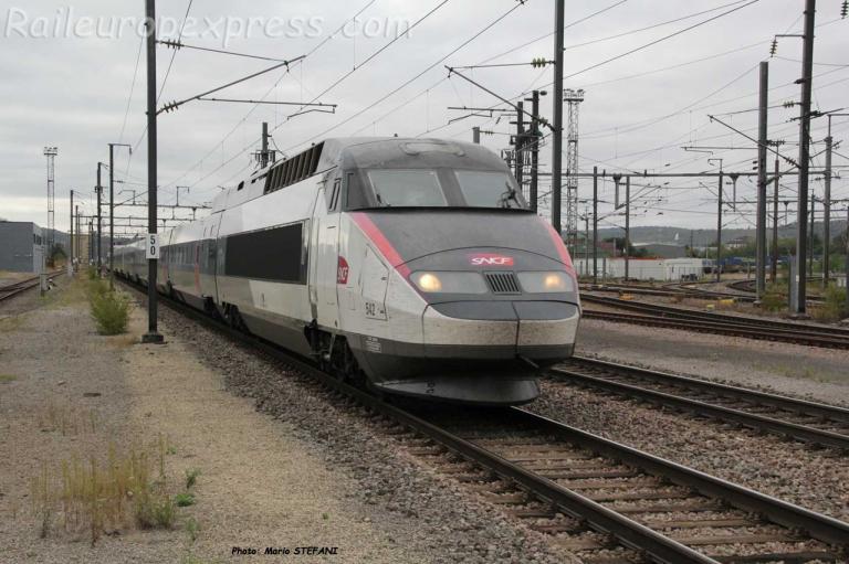 TGV SNCF à Bettembourg (L)