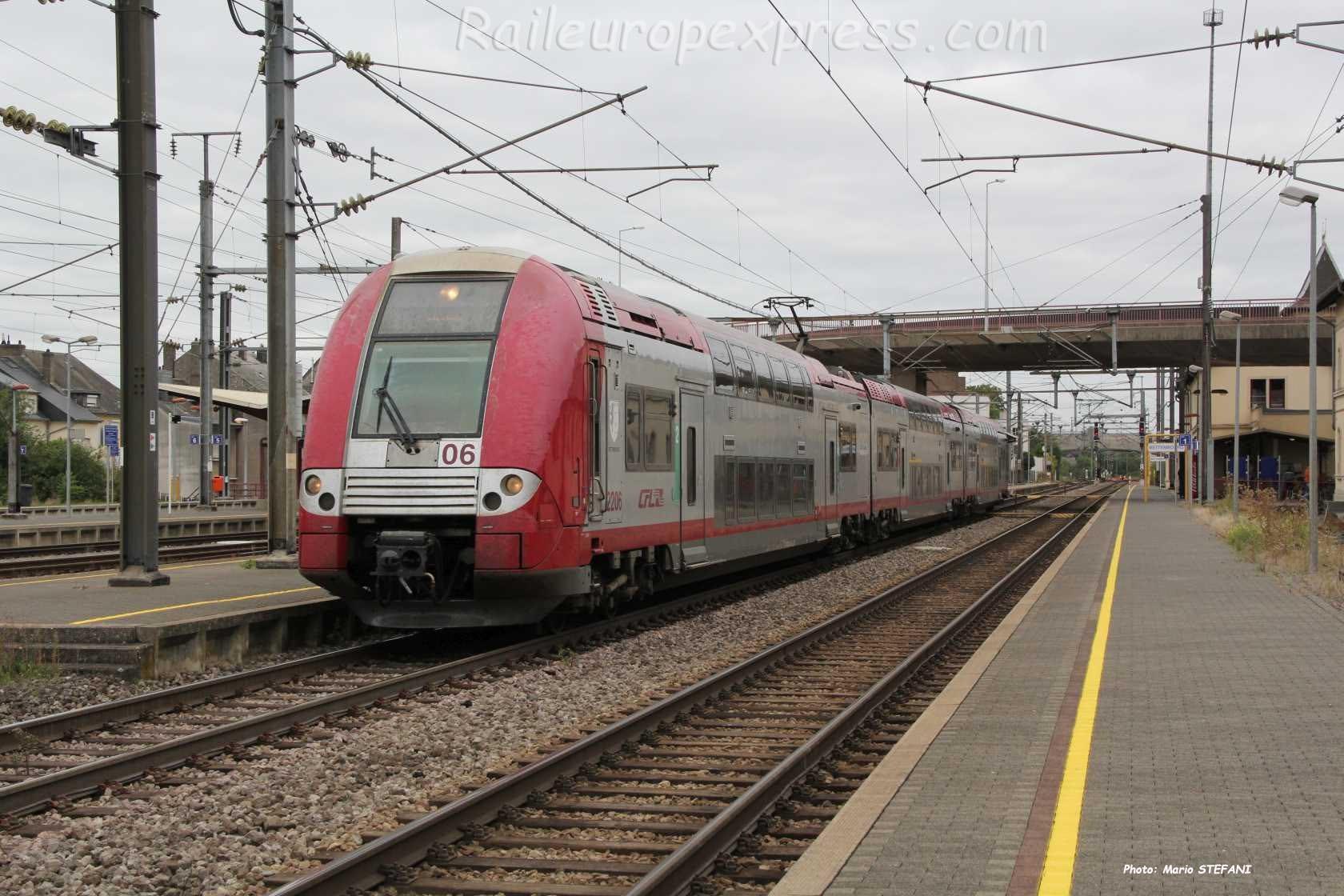 2206 CFL à Bettembourg (L)
