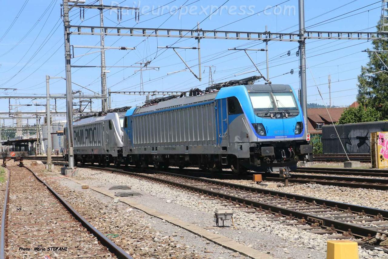 187 007-0 BLS à Ostermundingen (CH)