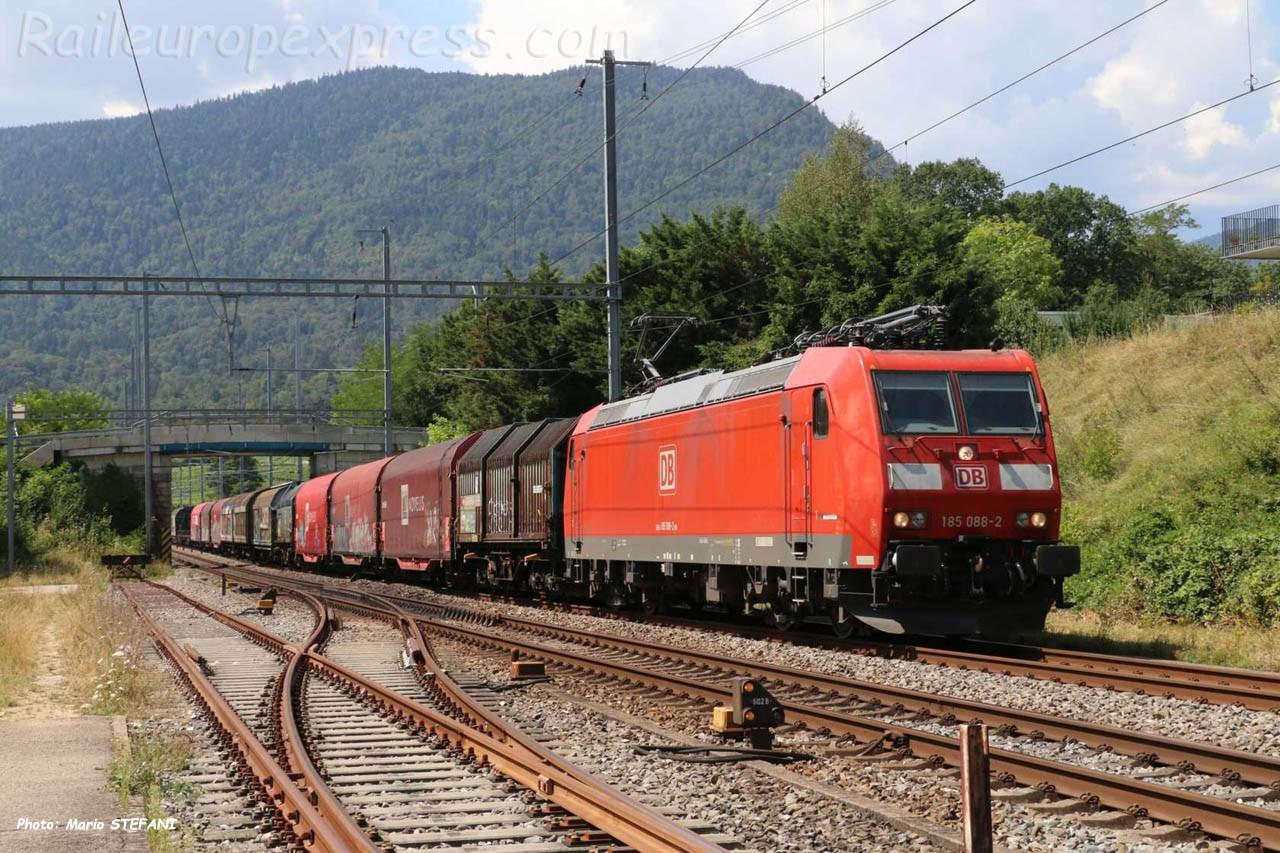 185 088-2 DB à Boudry (CH)