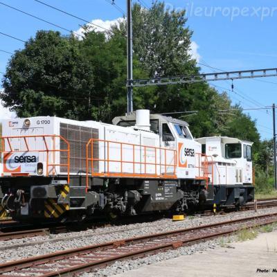 Am 843 154-6 SERSA à Boudry (CH)