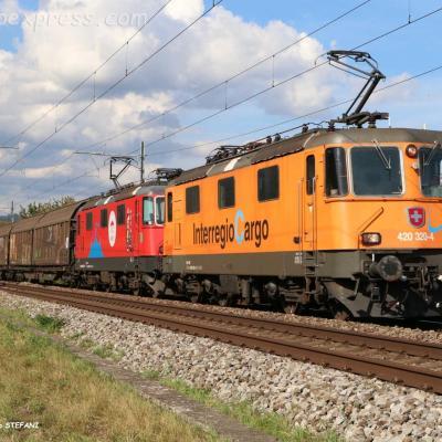 Re 420 320-4 CFF à Boudry Perreux (CH)