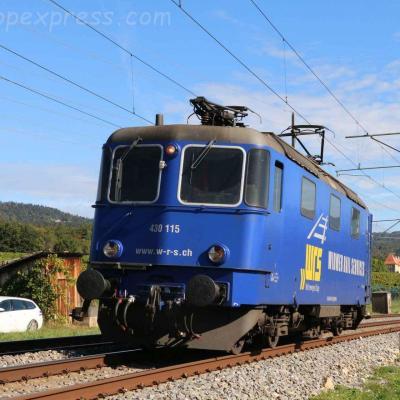Re 430 115 WRS à Boudry (CH)
