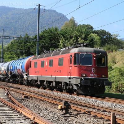 Re 620 030-7 CFF à Boudry (CH)