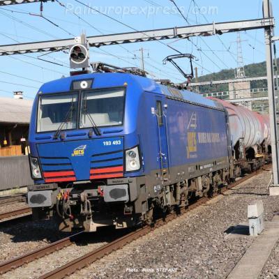 193 493-4 WRS à Sissach (CH)