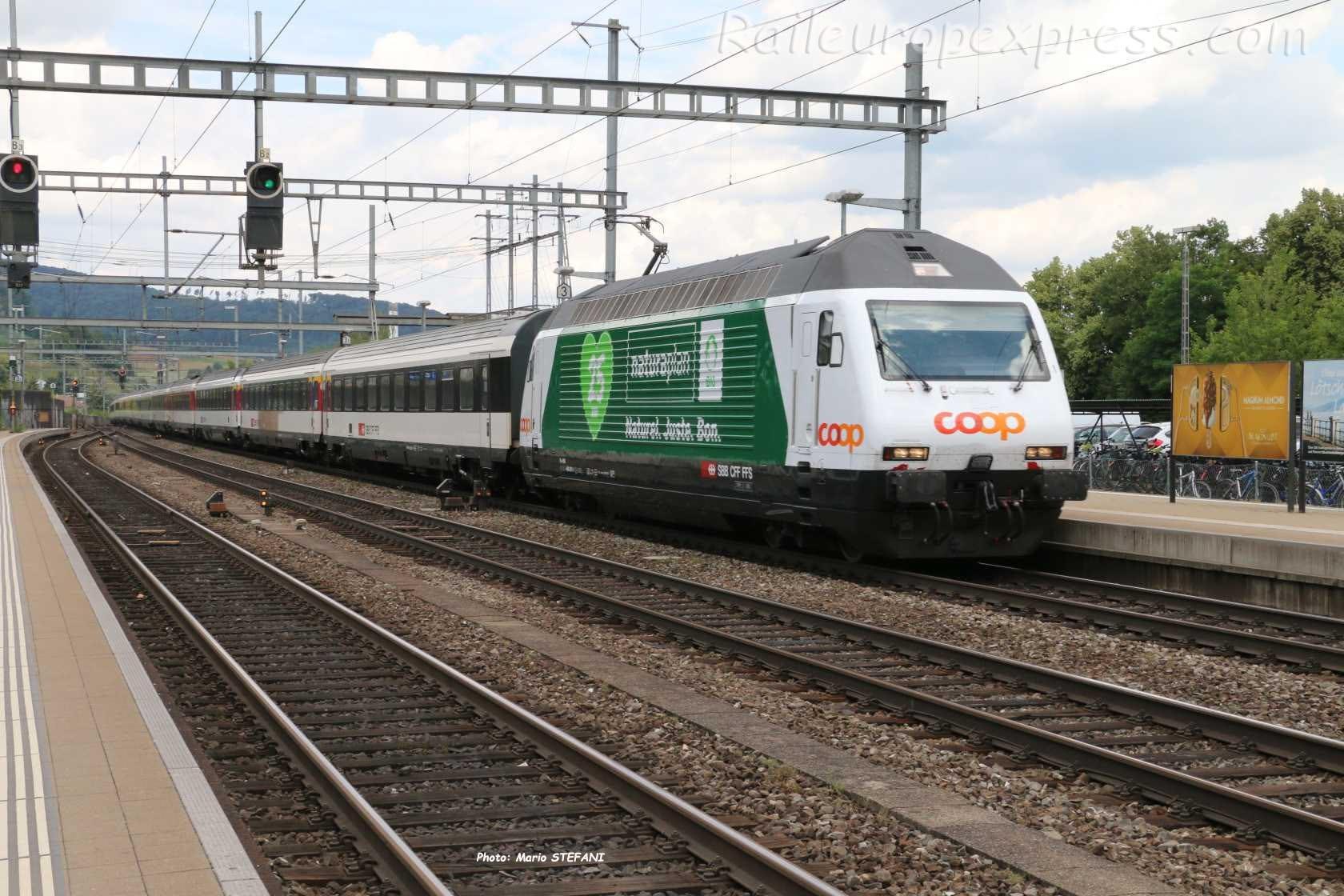 Re 460 CFF à Liestal (CH)
