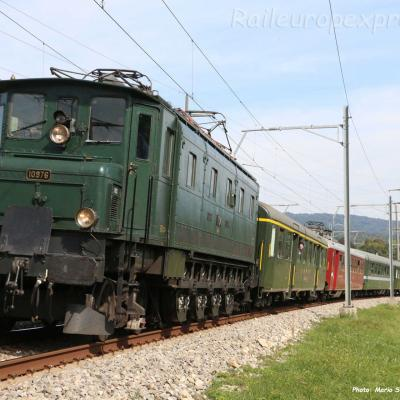 Ae 4/7 10976 CFF à Boudry (CH)