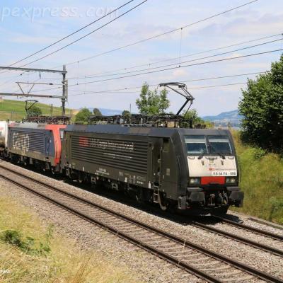 ES 64 F4-096 MRCE à Kumm (cH)