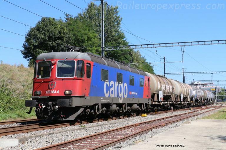 Re 620 083-6 CFF à Boudry (CH)