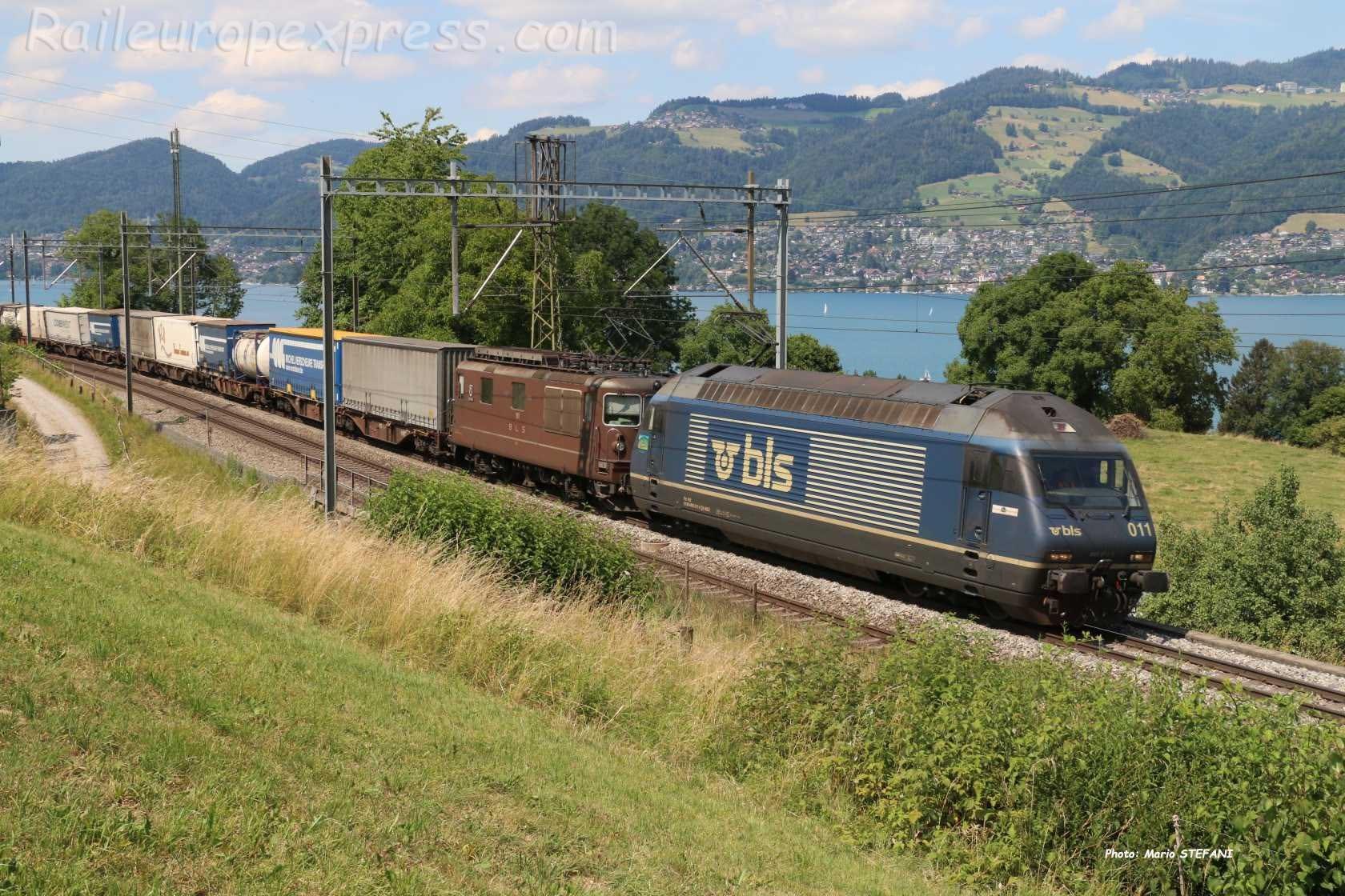 Re 465 011-5 BLS à Kumm