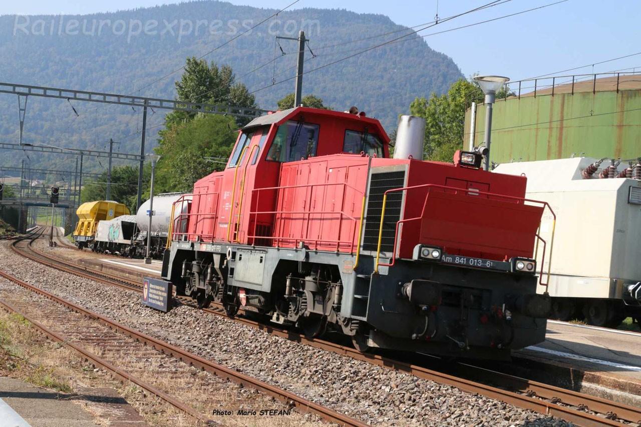 Am 841 013-6 CFF à Boudry (CH)
