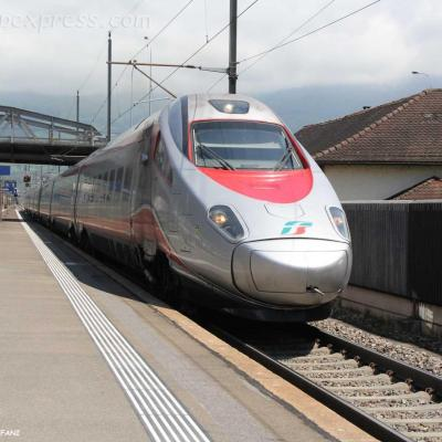ETR 610 FS à Brunnen (CH)