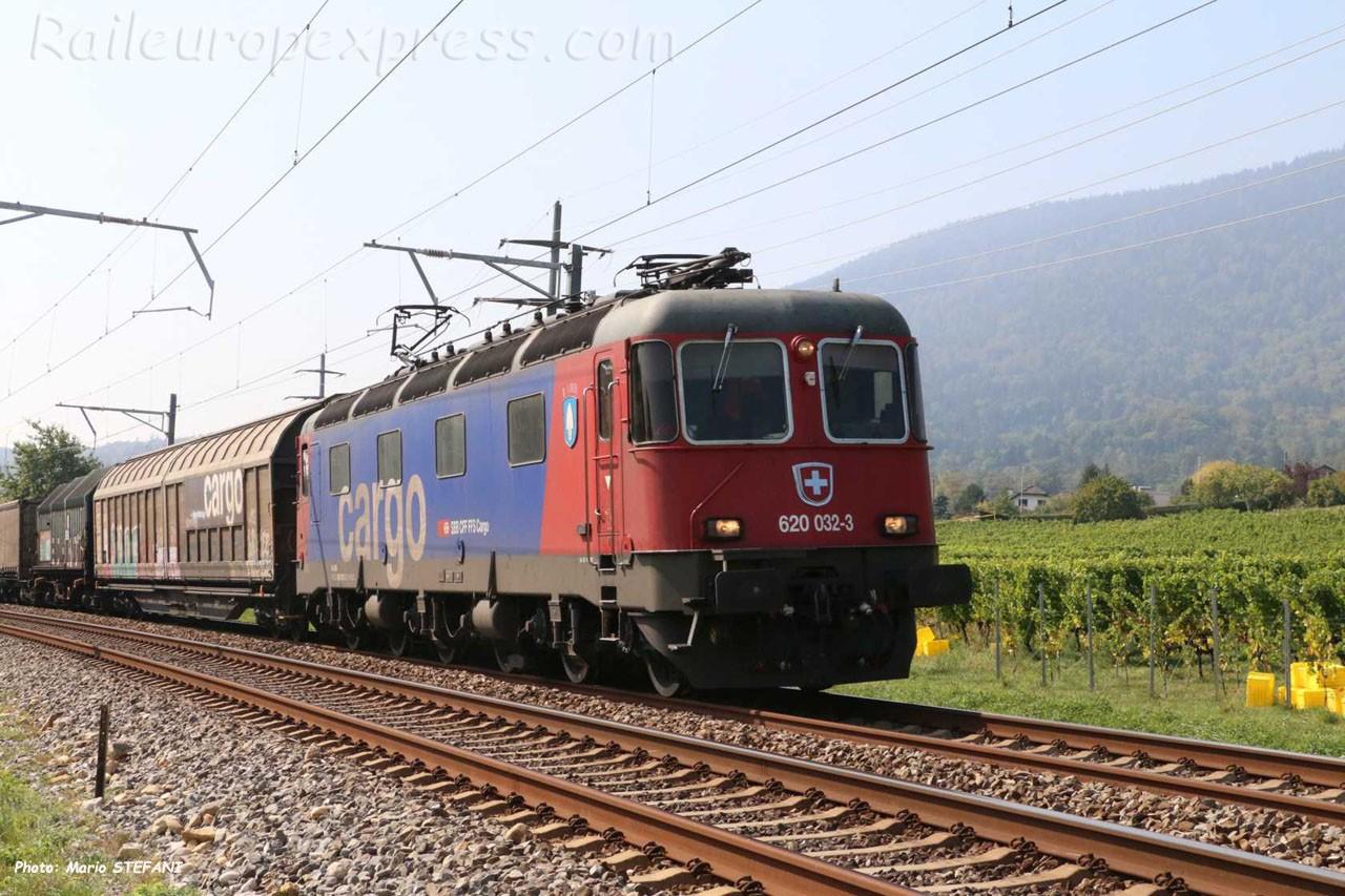 Re 620 032-3 CFF à Boudry (CH)