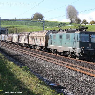 Re 430 364-0 CFF à La Lance (CH)