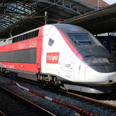 TGV Lyria SNCF à Lausanne (CH)