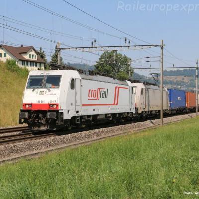 186 901 Crossrail à Immensee (CH)