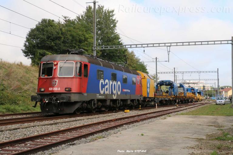 Re 620 058-8 CFF à Boudry (CH)
