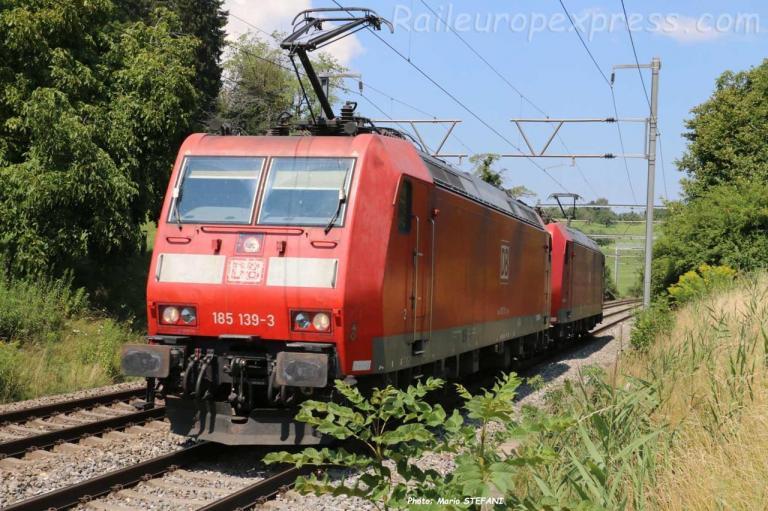 185 139-3 DB à Kumm (CH)
