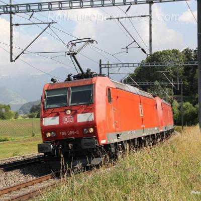 185 089-0 DB à Kumm (CH)