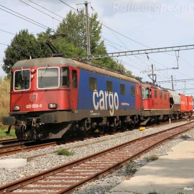 Re 620 059-6 CFF à Boudry (CH)