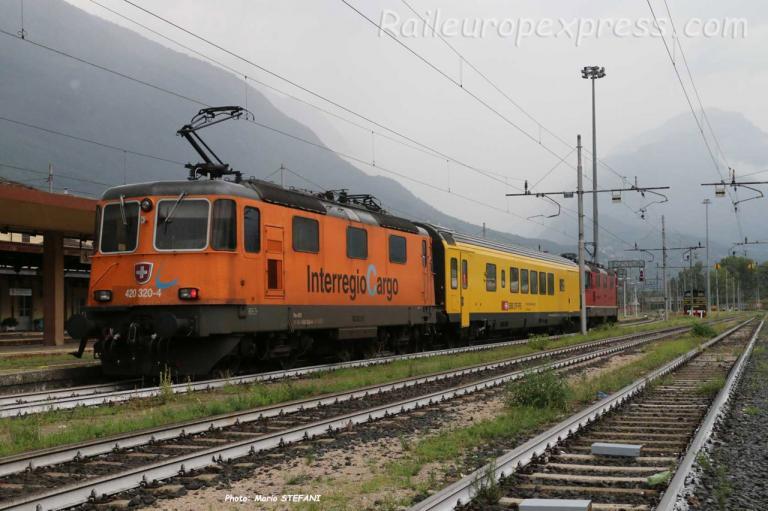 Re 420 320-4 CFF à Domodossola (I)