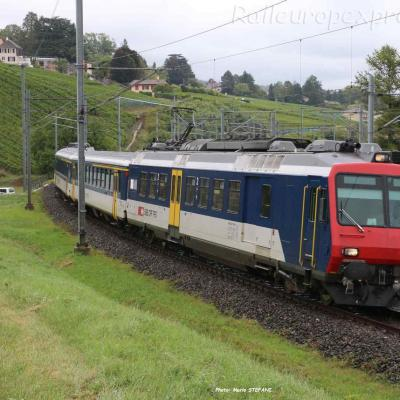 RBDe 562 CFF à Auvernier (CH)