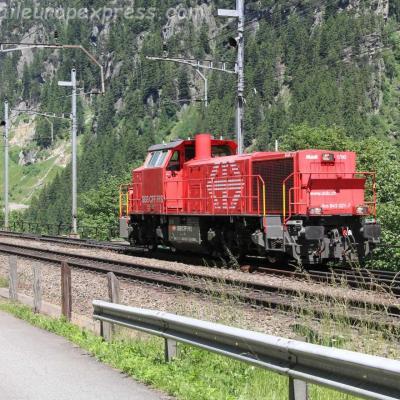 Am 843 021-7 CFF à Göschenen (CH)
