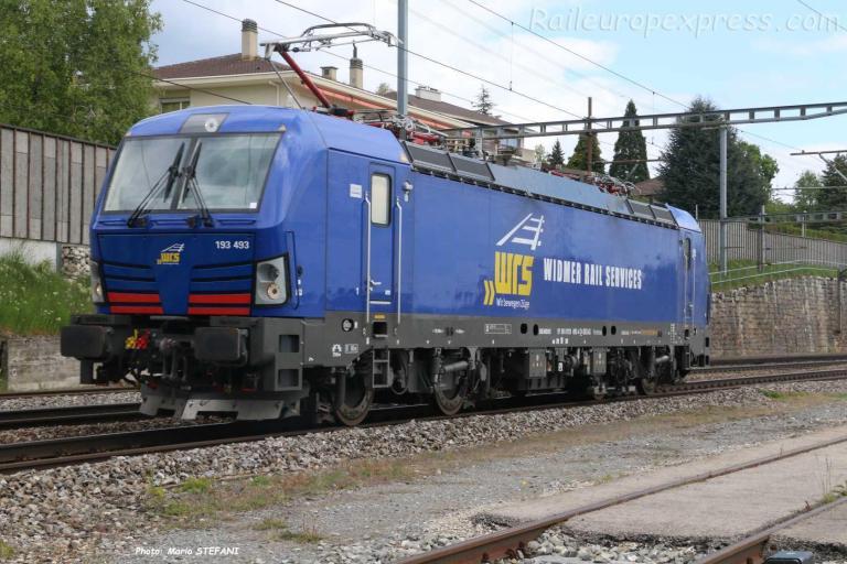193 493 WRS à Auvernier (CH)